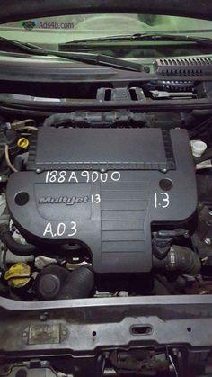 Motor Fiat Punto 1.3 multijet 2003 Ref. 188A9000. Enviamos para todo país. Transportadora / Correio. Para ver mais : toniauto.pt