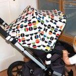 Kinderwagen Bezug für Bugaboo selber machen  #selbermachen #DIY #kinderwagen #bugaboo #kinder