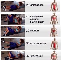 Ab workout. Seems simple enough