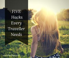 Five Travel Hacks Every Traveler Needs   http://www.giftgivingguru.com/single-post/2016/09/08/Dont-Leave-for-Your-Trip-Without-These-5-Travel-Helpers  #travel #hack #five