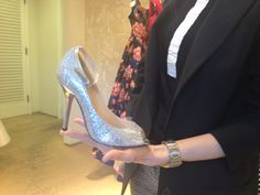 Cute Bridal Wedding Gowns Shoes Oscar de la Renta Store / Boutique on Melrose in Los Angeles, CA