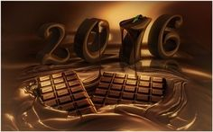 2016 New Year Chocolate Wallpaper | 2016 new year chocolate wallpaper 1080p, 2016 new year chocolate wallpaper desktop, 2016 new year chocolate wallpaper hd, 2016 new year chocolate wallpaper iphone