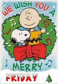 Wish you a Merry Christmas Snoopy