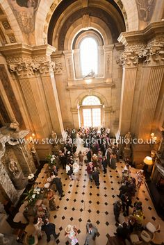 Fantastic view of The Great Hall, Castle Howard