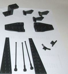 > > > $9.20 < < <  #ebay #lego #legospace LEGO Space Set 5974 XTRA Black Antenna Technic Split Level Specialty Plate Bow