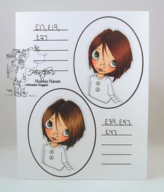 Copic Hair Color 23 & 24.