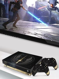 Star Wars Games with Xbox One X Special Console Xbox Console, Star Wars Games, Xbox One Games, Stars, Sterne, Star