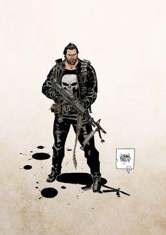 The Punisher - Goran Parlov
