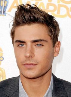 Hairstyles for short hair men round face