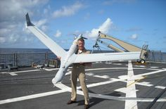 Operational Testing & Evaluation/Sea Trials for the Scan Eagle UAV Airplane News, Creation Site, Aerial Drone, Aircraft Design, Model Airplanes, Us Navy, Military Aircraft, Fighter Jets, Pilot