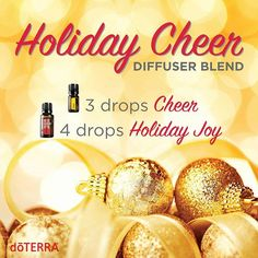 You know that giddy, bubbly feeling you get when decorating for Christmas? The one that makes you feel like prancing about like a reindeer? Put that feeling on repeat by diffusing this blend throughout the holidays. Leave a comment below