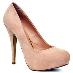 this would be real cute with jeans  very pretty pump.. love this shade of nude $14