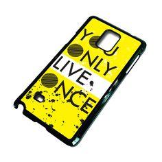 YOLO Samsung Galaxy Note 4 Case – favocase Galaxy Note 4 Case, Yolo, Samsung Galaxy, Phone Cases, Phone Case