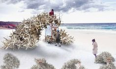 7 Burning Man-style winter stations unveiled for Toronto's snowy shores   Inhabitat - Green Design, Innovation, Architecture, Green Building