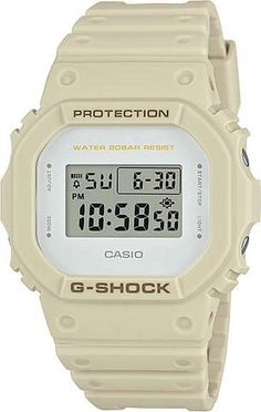 Casio Mens G-Shock Military Colour Series Watch (Model No. DW-5600EW-7) #gshock