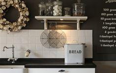 Landelijke keuken mooie planken inspiratie country kitchen