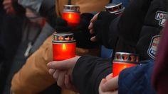 Івано-франківські студенти вшанували пам'ять жертв Голодомору, виклавши символічний...