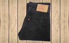 Vintage Levis 501 Jeans Canada Made 1990s Black Denim Straight Leg Button Fly Red Tab Measure as W31.5 L33 by BlackcatsvintageUK on Etsy