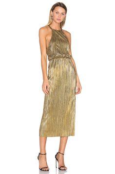 House of Harlow 1960 x REVOLVE Farrah Dress in Gold | REVOLVE