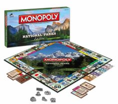 MONOPOLY: National Parks Edition | USAopoly