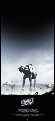 Star Wars  Episode V - The Empire Strikes Back by Colin Morella - Home of  the Alternative Movie Poster -AMP- f639052327