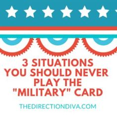 here are 3 Situations where you should never play the #Military card.