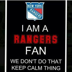 . New York Teams, New York Rangers, Keep Calm, Stay Calm, Relax