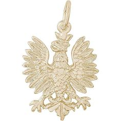 Rembrandt Charms Phoenix Charm Gold Plated Silver * See this great product.