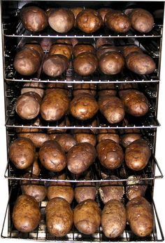 Smoked Baked Potatoes are great with smoked brisket, I have to try this.