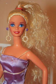 Lemony Blond Wavy PT Reroot Barbie Doll OOAK #Mattel