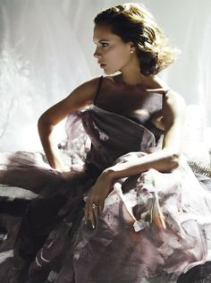 Victoria Beckham photographed by Nick Knight for British Vogue April 2008.