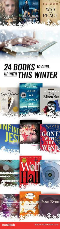 Looking for books to read next? These novels are the perfect companions to curl up with this winter.