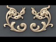 Угловые элементы для декорирования фасадов мебели - decorative corner el...