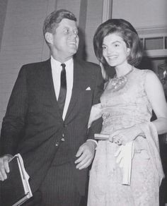 "John Fitzgerald Kennedy (May 29, 1917 – November 22, 1963), commonly known as ""Jack"" or by his initials JFK, was the 35th President of the United States, serving from January 1961 until he was assassinated in November 1963.  Jacqueline Kennedy Onassis, born Jacqueline Lee ""Jackie"" Bouvier July 28, 1929 – May 19, 1994) ☀❤☀❤☀❤☀❤☀  http://en.wikipedia.org/wiki/John_F._Kennedy  http://en.wikipedia.org/wiki/Jacqueline_Kennedy_Onassis"