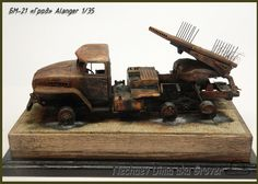 "BM-21 ""Grad"" Bm 21 Grad, Wooden Toys, 21st, Car, Dioramas, Wooden Toy Plans, Wood Toys, Automobile, Woodworking Toys"
