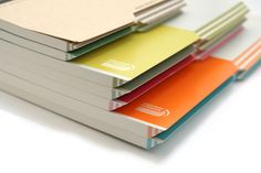 "Kokuyo Campus Paracuruno Slanted Page Notebook - A5 (5.8"" X 8.3"") - 28 Lines X 80 Sheets - Lime Green - KOKUYO NO-R108B-YG"