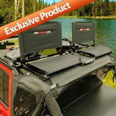 Jeep Backbone Part SS-JK2D-B - Safari Seats - Fits 2007 to 2015 JK Wrangler and Rubicon - 4 Wheel Drive