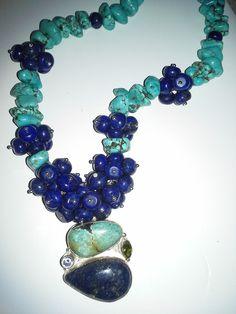 lapis, turquoise