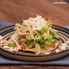 Food Network Recipes, Cooking Recipes, Healthy Recipes, Tasty Kitchen, Light Recipes, Creative Food, Tostadas, Appetizer Recipes, Mexican Food Recipes