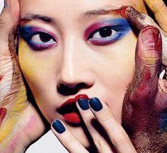 korean model: Lee Hyun Yi shot by Richard Burbridge for Vogue Italia November 2012