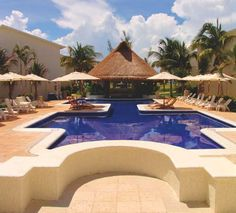 Who's ready to relax poolside?  Laguna Suites Golf & Spa  Cancún, Quintana Roo, Mexico