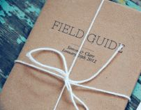 C+S  Fieldguide by Clare Cato, via Behance.Use Civo to get more.