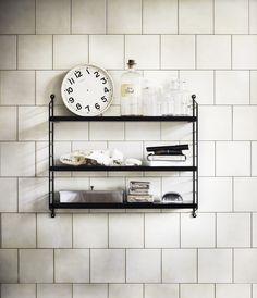 The Swedish String shelf.