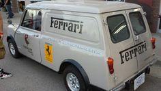 Ferrari choose a Mini van.