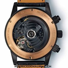 See the inner workings of a handcrafted watch from Maurice de Mauriac. http://mauricedemauriac.ch/ #watches
