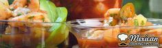 Cancun Shrimp Cocktail - For all sea-food lovers out there… Here's a delicious shrimp cocktail with a touch of spice that you'll love! (Serves 4)