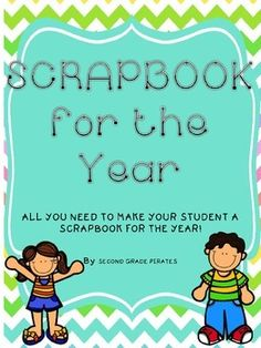 Everything you need to put together a scrapbook for your students!!!! If you haven't done scrapbooks in the past because they are too much work, this takes the work out of it!!!!  There are parts where you can edit to make it just your own. This set includes:Editable cover page: Add your students pictures to the cover, as well as gradeFirst Days papers- letter to self, handwriting (writing name, writing alphabet, goals page, measure my foot, measure my hand, how tall am I, my favorites