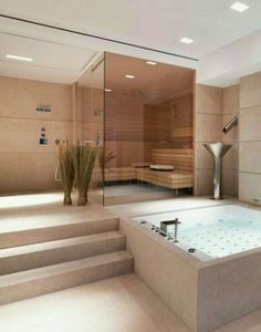 32 modern bathrooms that stand for luxury - Bathroom Decoration Luxury . - 32 modern bathrooms that stand for luxury – Bathroom Decoration Luxury # - Home Spa, House Design, House, Home, Dream Bathrooms, Luxury Homes, House Interior, Modern Bathroom, Luxury Bathroom