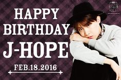 BTS JAPAN OFFICIAL Twitter #HappyJHOPEday [160218] Trans @BTS_jp_official  : Today is Bangtan's eternal hope〜J-Hope's Birthday!Congratulations!  be A.R.M.Y's Hope this year as well,and may you have a wonderful year ahead! #HappyBirthdayHopi