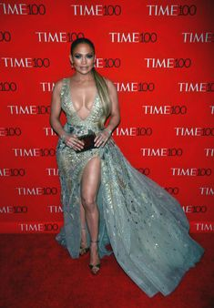 Jennifer Lopez Photos Photos: Stars Attend The Time 100 Gala In New York City Jennifer Lopez Photos, Diva Fashion, Celebs, Celebrities, Gray Dress, Celebrity Style, Cool Girl, Glamour, How To Wear
